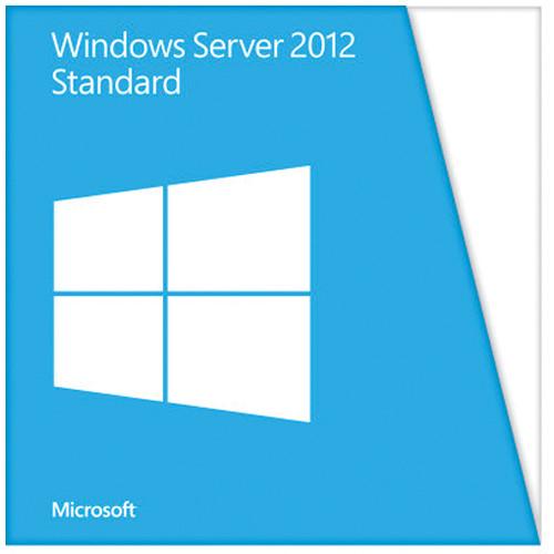 Microsoft Windows Server 2012 Standard (64-bit, 2-User OEM License)