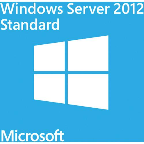 Microsoft Windows Server 2012 Standard (64-bit, 5-CLT DVD)