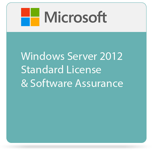 Microsoft Windows Server 2012 Standard License & Software Assurance