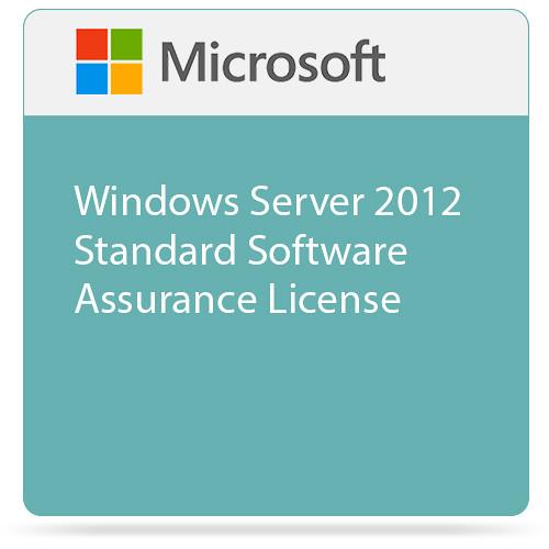 Microsoft Windows Server 2012 Standard Software Assurance License