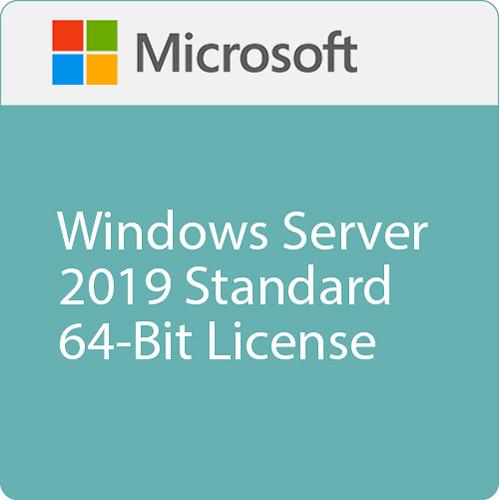 Microsoft Windows Server 2019 Standard 64-Bit License (16 Core, OEM)