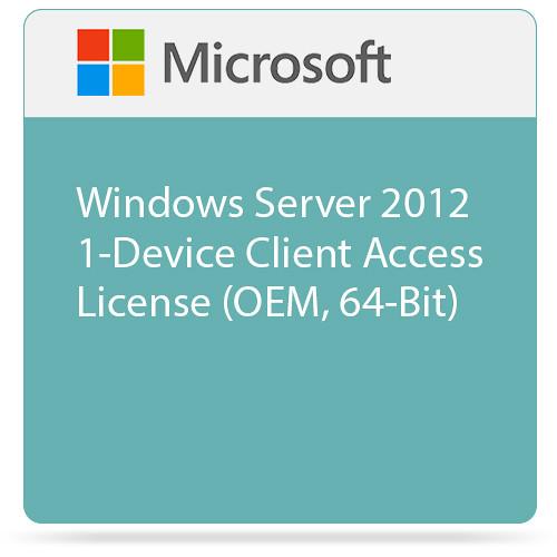 Microsoft Windows Server 2012 1-Device Client Access License (OEM, 64-Bit)