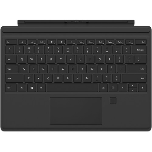 Microsoft Surface Pro / Pro 4 Type Cover (Onyx with Fingerprint Reader)