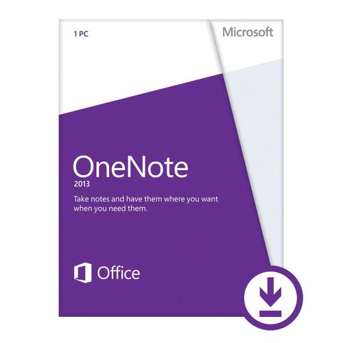 Microsoft Open License for OneNote 2013 (Download)