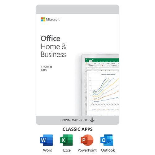 Microsoft Office Home & Business 2019 (1-User License, Download)