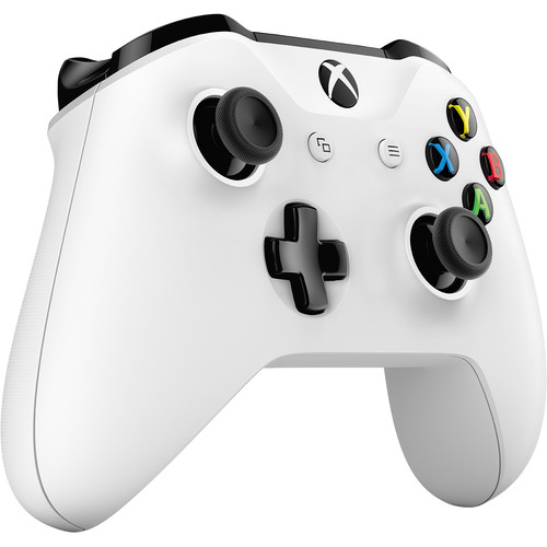 microsoft xbox one wireless controller white tf5 00002 b h