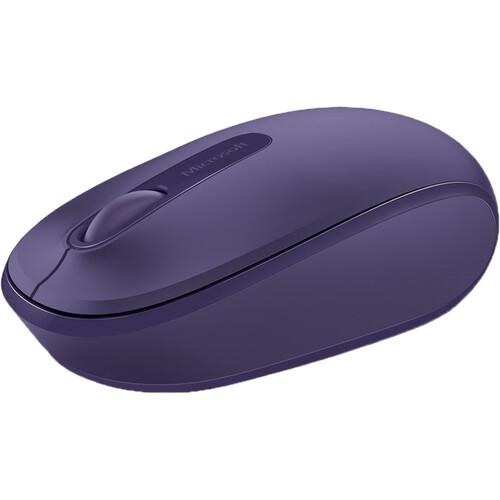 Microsoft Wireless Mouse 1850 (Purple)