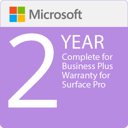 Microsoft Complete For Business Plus  2 Year Warranty For Surface Pro