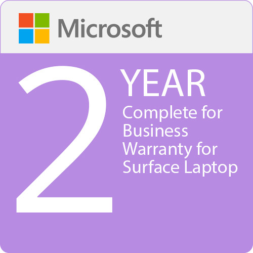 Microsoft Complete For Business 2 Year Warranty For Surface Laptop