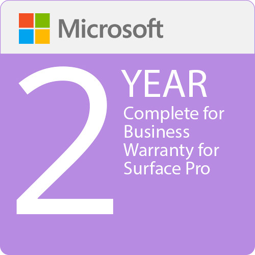 Microsoft Complete For Business 2 Year Warranty For Surface Pro