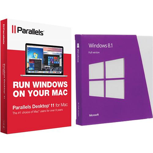 Microsoft Windows 8.1 64-bit & Parallels Desktop 11 for Mac Kit (DVD)