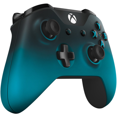 Microsoft Xbox One Wireless Controller (2016 Version, Ocean Shadow)