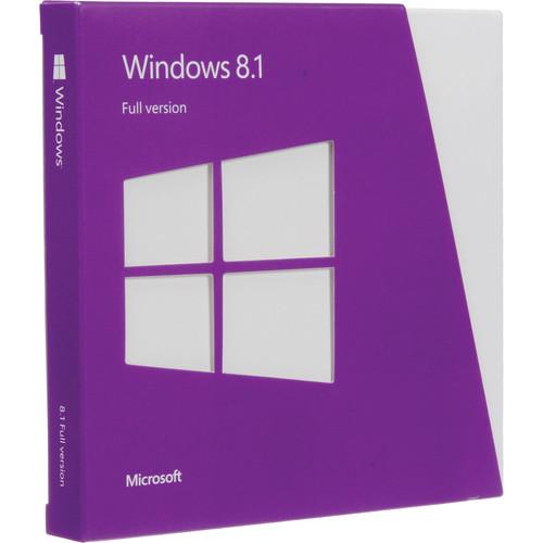 Microsoft Windows 8.1 DVD (32- & 64-bit)