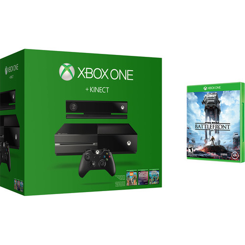 Microsoft Xbox One + Kinect Bundle with Star Wars Battlefront Kit