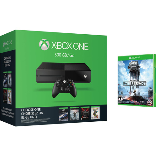 Microsoft Xbox One Name Your Game Bundle with Star Wars Battlefront Kit