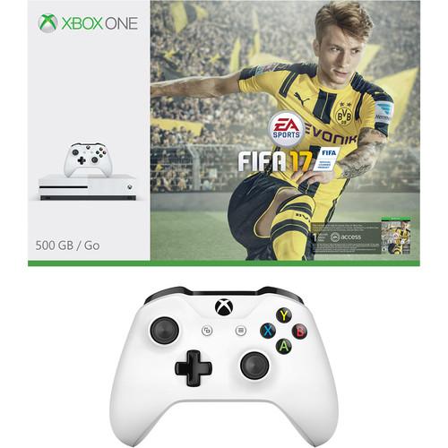 Microsoft Xbox One S FIFA 17 Bundle & Additional Xbox One Controller Kit