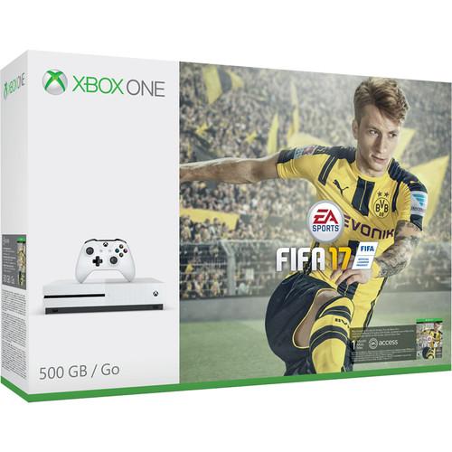 "Microsoft Xbox One S FIFA 17 Bundle and LG UB8200 Series 49"" Class 4K Smart LED TV Kit"