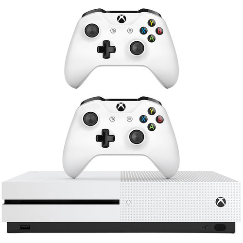 Microsoft Xbox One S Gaming Console & Additional Xbox One Controller Kit