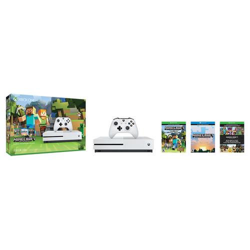 Microsoft Xbox One S Minecraft Favorites Bundle