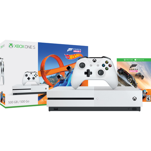 Microsoft Xbox One S Forza Horizon 3 Hot Wheels Bundle