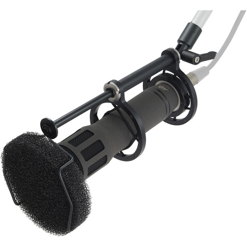 Microtech Gefell MD 300 Dynamic Microphone with Suspension & Popscreen