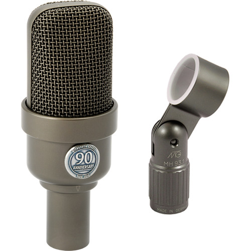 Microtech Gefell M 930 90th Anniversary Studio Condenser Microphone (Bronze with Anniversary Badge)
