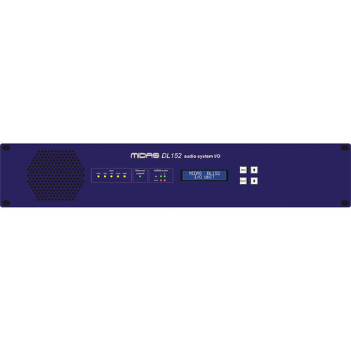 Midas DL152 - 24-Output Stagebox with Dual-Redundant AES50 Networking