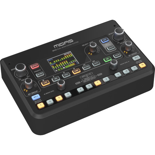 Midas DP48 Dual 48-Channel Personal Monitor Mixer with SD Card Recorder