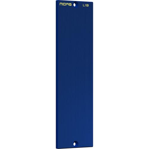 Midas LEGEND L1B 500 Series Single-Width Modular Blank Plate