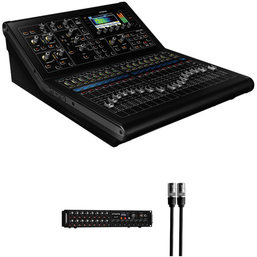 Midas M32R Digital Console Kit with Stage Box and etherCON Cable
