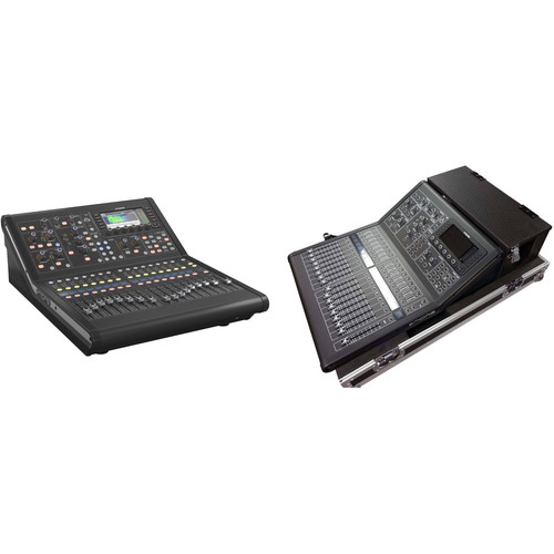 Midas M32R-LIVE Digital Console Kit with Doghouse Flight Case