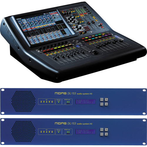 Midas PRO1 Install Bundle Live Sound Digital Console with Two Stageboxes