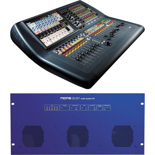 Midas PRO2C Tour Bundle Live Sound Digital Console with Stagebox and Road Case