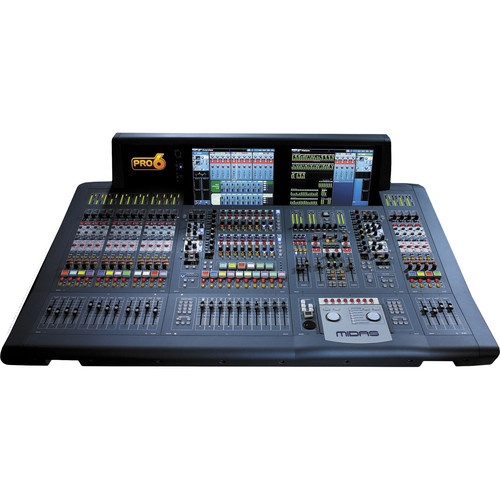 Midas PRO6 Live Audio Mixing System with 64 Input Channels (Installation Package)
