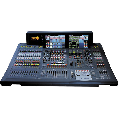 Midas PRO9 Live Audio Mixing System (Touring Package)