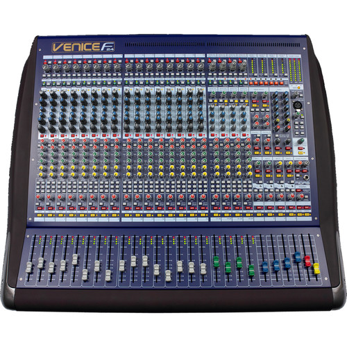 Midas VeniceF-24 24-Channel Hybrid Console Mixer