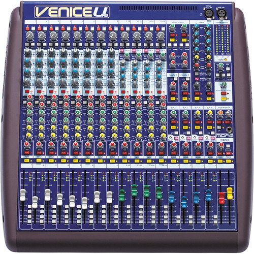Midas VeniceU 16 Hybrid Analog Digital Mixing Desk