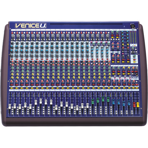 Midas Venice U 24 Audio Mixing Console with 8 x 8-Channel USB Interface