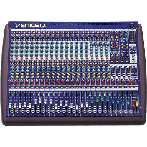midas venice u 24 audio mixing console with 8 x veniceu 24 b h. Black Bedroom Furniture Sets. Home Design Ideas
