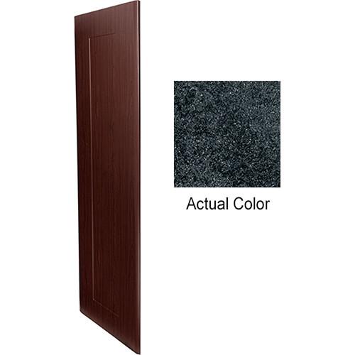 """Middle Atlantic Pair of Wood Side Panels for Slim 5-Series Equipment Rack (14 RU, 20"""" Deep, Darkstone)"""