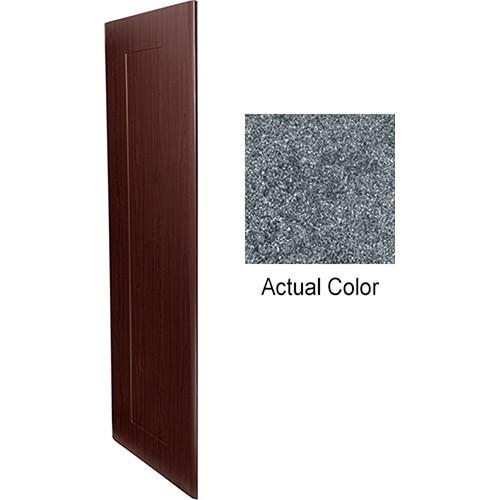 """Middle Atlantic Pair of Wood Side Panels for Slim 5-Series Equipment Rack (14 RU, 20"""" Deep, Graystone)"""