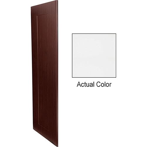 """Middle Atlantic Pair of Wood Side Panels for Slim 5-Series Equipment Rack (21 RU, 20"""" Deep, Frost)"""