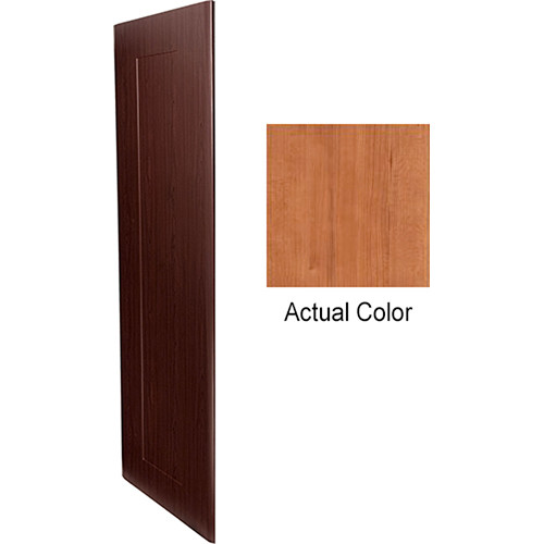 "Middle Atlantic Pair of Wood Side Panels for Slim 5-Series Equipment Rack (21 RU, 20"" Deep, Hazelnut Maple)"
