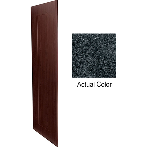 """Middle Atlantic Pair of Wood Side Panels for Slim 5-Series Equipment Rack (37 RU, 20"""" Deep, Darkstone)"""