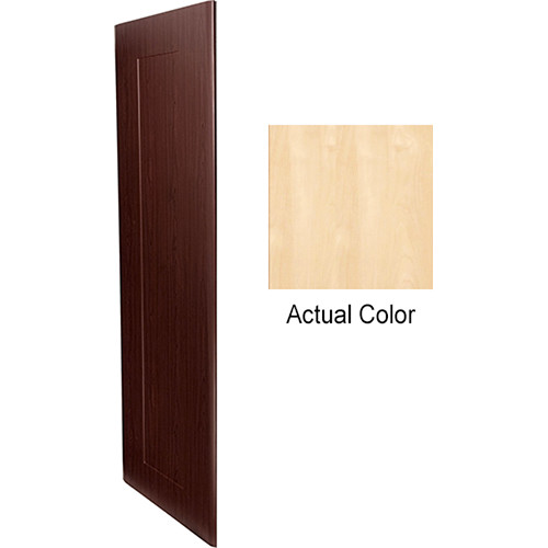 """Middle Atlantic Pair of Wood Side Panels for Slim 5-Series Equipment Rack (43 RU, 20"""" Deep, Native Maple)"""