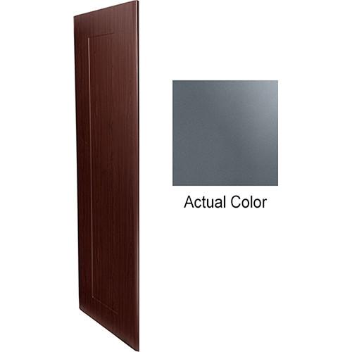"""Middle Atlantic Pair of Wood Side Panels for Slim 5-Series Equipment Rack (43 RU, 20"""" Deep, Shark Gray)"""