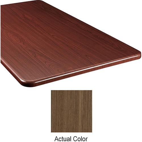 "Middle Atlantic Wood Top Panel for Slim 5-Series Equipment Rack (20"" Deep, Belambra)"