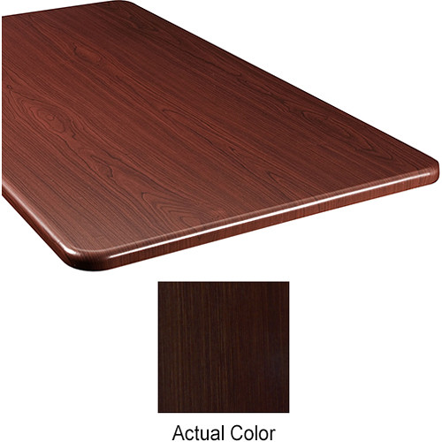 "Middle Atlantic Wood Top Panel for Slim 5-Series Equipment Rack (20"" Deep, Cafe Noir)"