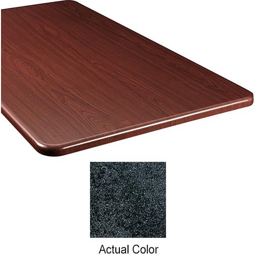 "Middle Atlantic Wood Top Panel for Slim 5-Series Equipment Rack (20"" Deep, Darkstone)"