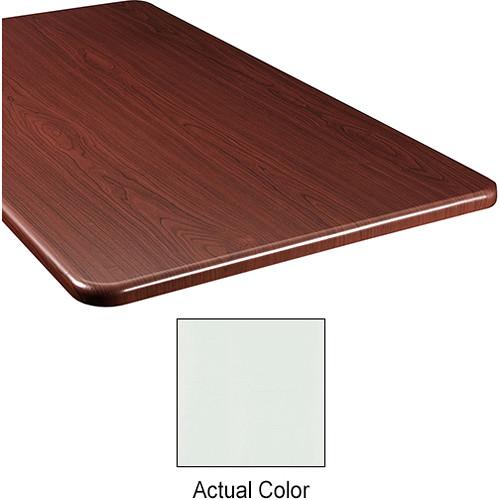 "Middle Atlantic Wood Top Panel for Slim 5-Series Equipment Rack (20"" Deep, Gray Ash)"
